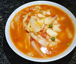 #元宵节美食大赏#西红柿蔬菜汤的做法
