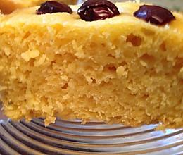 粗粮也可以很美味——低糖松软玉米发糕的做法