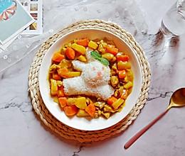 咖喱鸡饭#夏日下饭菜#的做法
