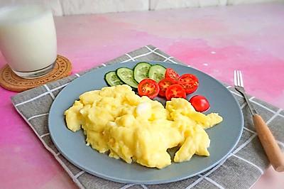 低脂轻食减脂-西式牛奶嫩滑蛋