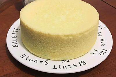 八寸戚風蛋糕—跟著君之學烘焙