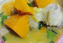 椰汁芋头南瓜粥的做法
