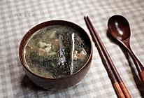 韩式海带汤的做法