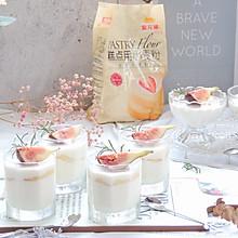#爱好组-低筋复赛#草莓酸奶慕斯