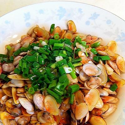 葱油海瓜子(扁蛏)