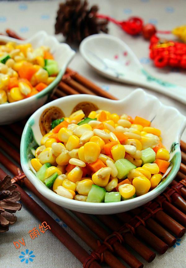 孩子爱吃的松仁玉米的做法