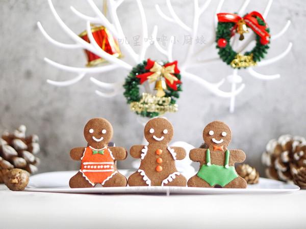 姜饼人好朋友糖霜饼干的做法