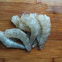 丝瓜炒虾球的做法图解1