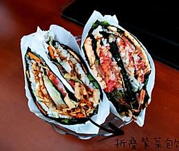 折叠紫菜包饭的做法