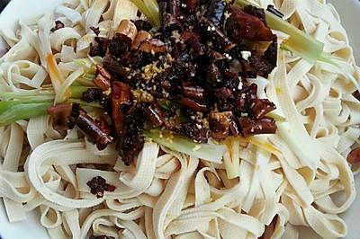 葱油干豆腐(饭店秘方)