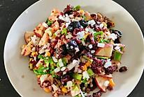 """#""""莓""""好春光日志#蔓越莓干红菜头果蔬沙拉的做法"""