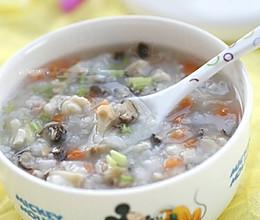 香菇鸡茸蔬菜粥  的做法