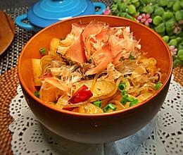 日式木鱼花肉沫萝卜的做法
