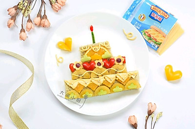 3D生日蛋糕