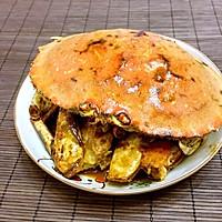 葱姜味增炒蟹