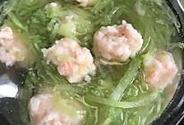 萝卜虾滑汤的做法