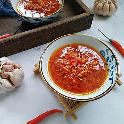 蒜蓉辣椒酱(家庭版)
