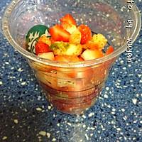 草莓果粒牛奶的做法图解4