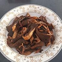 肉片炒鲜蘑的做法图解5