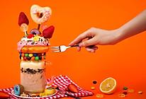 网红甜甜圈奶昔的做法