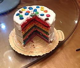 彩虹蛋糕,能让心飞翔的蛋糕的做法