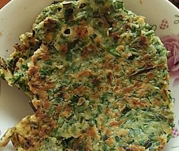 野荞叶饼的做法