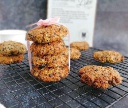 #母亲节,给妈妈做道菜#无糖无油亚麻籽粉燕麦饼干的做法
