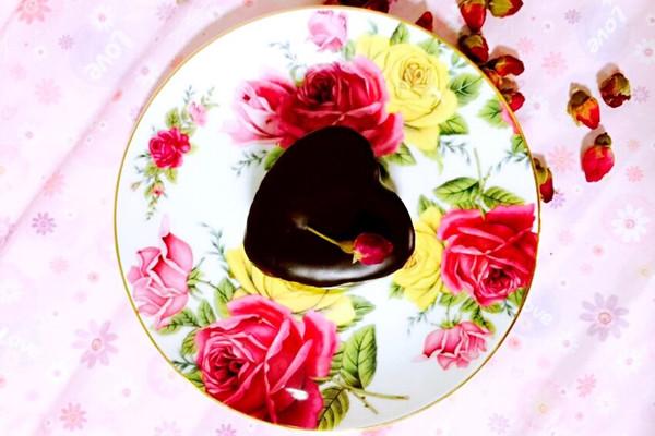 情人节巧克力蛋糕的做法