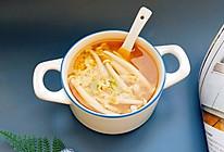 #我要上首焦#蘑菇鸡蛋味噌汤的做法
