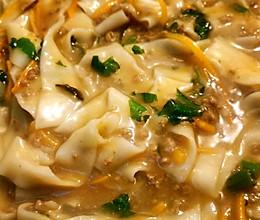 #美食视频挑战赛# 羊肉糊汤面的做法
