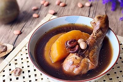 润肤养颜 罗汉果木瓜鸡汤