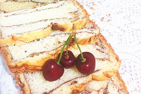 可可核桃面包的做法