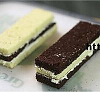 双色棋格奶油蛋糕的做法图解16