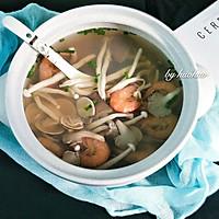 菌味海鲜汤的做法图解9