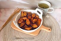 #美味烤箱菜,就等你来做!#蜜汁烤红薯角的做法