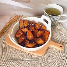 #美味烤箱菜,就等你来做!#蜜汁烤红薯角