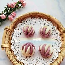 双色花卷馒头#做道好菜,自我宠爱!#