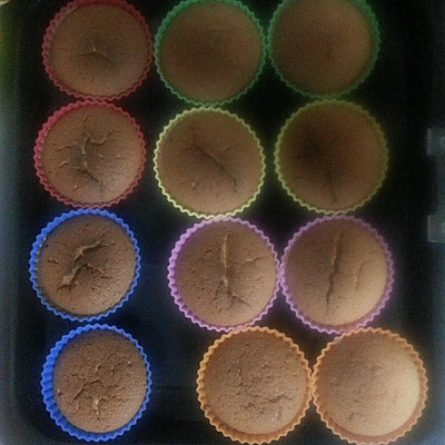 戚风纸杯蛋糕 24个或8寸1个