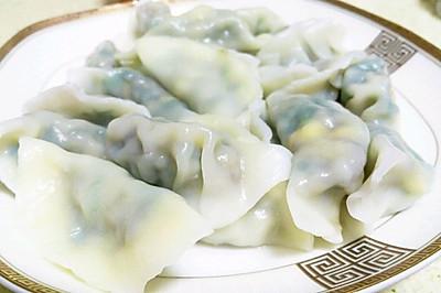 手工韭菜饺子