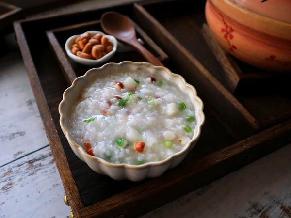 健脾开胃的淮山芡实粥的做法