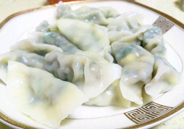 手工韭菜饺子的做法