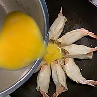 抱蛋鲜虾煎饺的做法图解13
