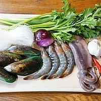 #美食新势力#泰式海鲜粉丝沙拉的做法图解1