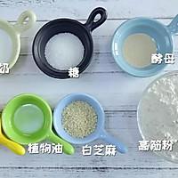 平底锅小面包 宝宝辅食食谱的做法图解1