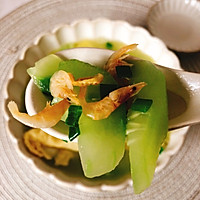 #花10分钟,做一道菜!#黄瓜虾米蛋汤的做法图解10