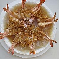 蒜蓉粉丝蒸虾#寻找最聪明的蒸菜达人#的做法图解10