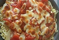 方便面披萨的做法