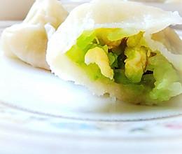 清新可口-黄瓜鸡蛋水饺的做法