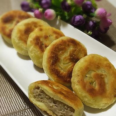 香酥牛肉饼