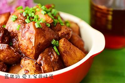 五花肉酱焖土豆